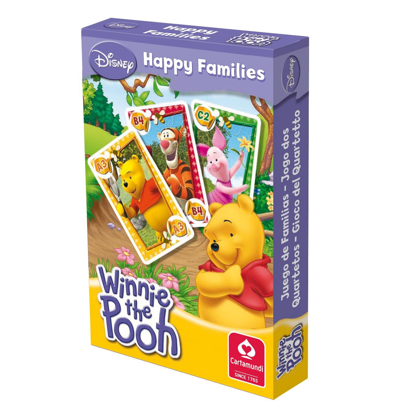 Juego Cartas Familias Winnie: Amazon.es: Juguetes y juegos