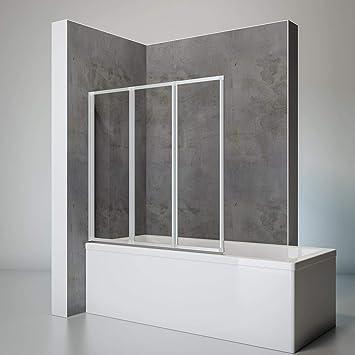 Schulte - Mampara de ducha con diseño de monstruo y texto en ...
