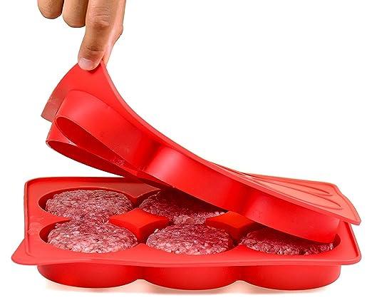 Prensa de silicona para hamburguesas y congelador, sin BPA ...