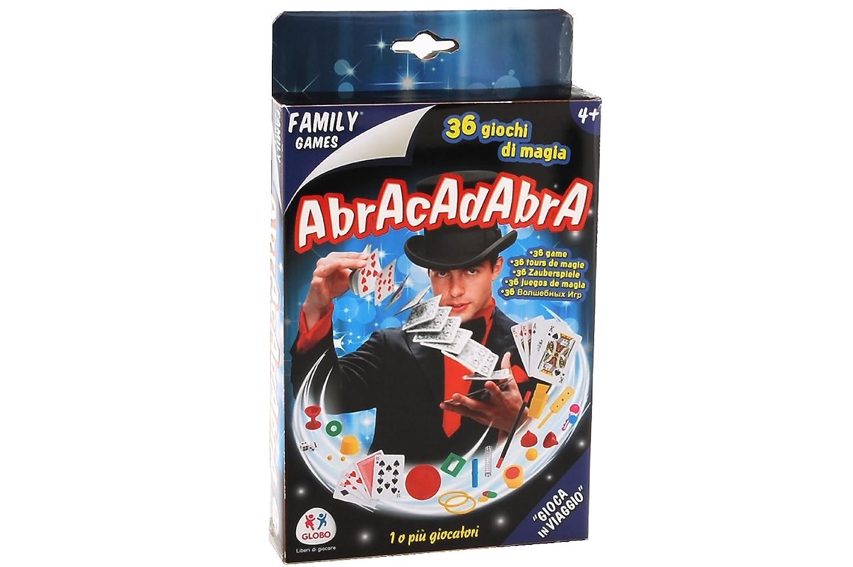 Globo Giocattoli 36742 –  4, Trucchi di magia Travel Family Game Globo Toys Globo - 36742