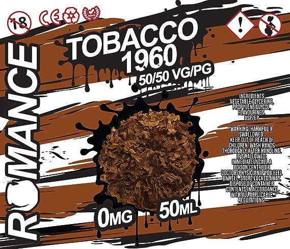 Romance e Liquid Vape Juice 10 fantásticos sabores ricos 50ML 0MG 50/50 PG/VG, sin nicotina (Lemon Cheesecake): Amazon.es: Salud y cuidado personal