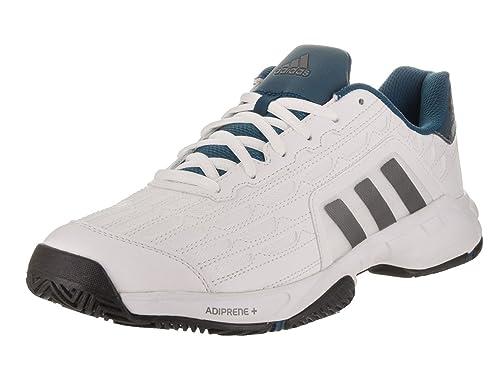 Adidas Hombre Barricade Court 2 Zapatos de Tenis Blanco, 46: Amazon.es: Zapatos y complementos