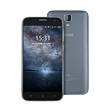 UHANS A101S Android 6.0 5.0 pulgadas 3G Smartphone MTK6580 ...