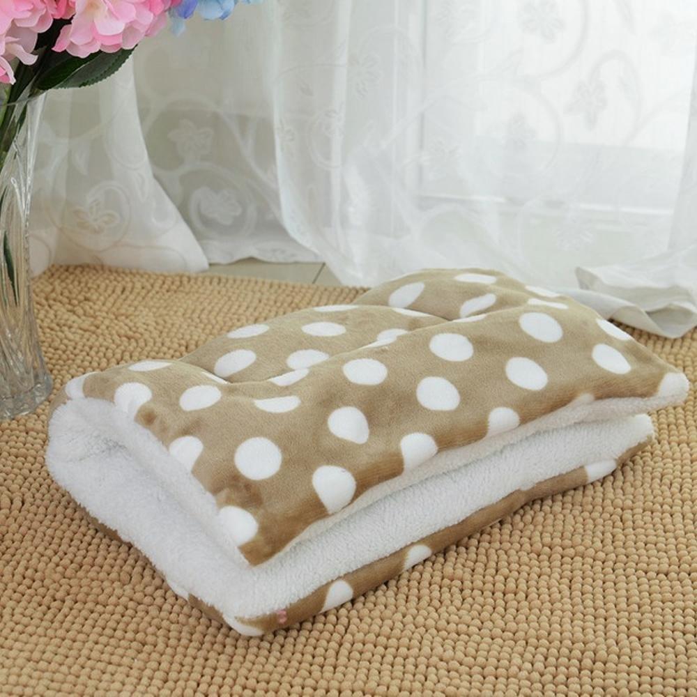 I 62 *46cmDesti Flakes Pet Bolster Dog Bed Comfort Dog Cushion Cat Mat Pet nido (Colore:E, Dimensione: 62 * 46cm)