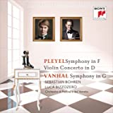 Vanhal: Symphony in G Major, Bryan G8 / Pleyel: Symphony in F Major,Op.136/Violin Concerto in D Major