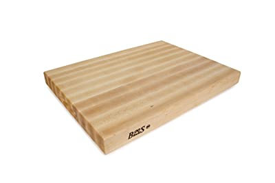 John Boos RA03 Maple Wood Rdge Grain Reversible Cutting Board