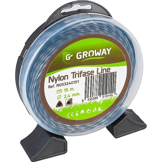 Groway Trifase Line - Nylon para desbrozadora, redondo de ...