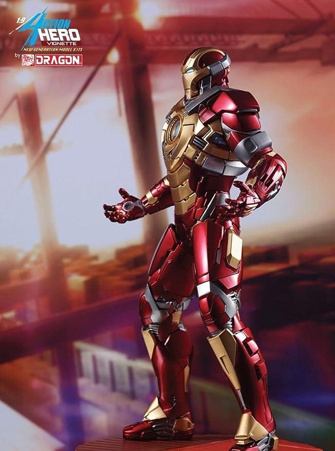 Buy Dragon Models Usa Dragon Models Iron Man 3 Iron Man Mk Xvii
