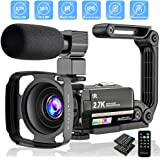 "Video Camera 2.7K Camcorder Ultra HD 36MP Vlogging Camera for YouTube IR Night Vision 3.0"" LCD Touch Screen 16X Digital…"