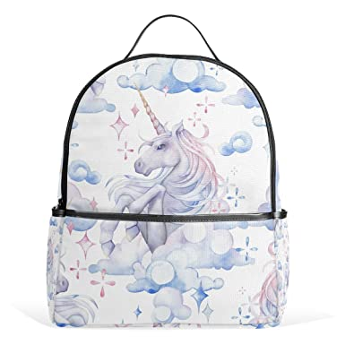 COOSUN Cute Watercolor Unicorn School Backpacks Bookbags for Boys Girls  Teens Kids  Amazon.co.uk  Clothing 4ca5e368d7365
