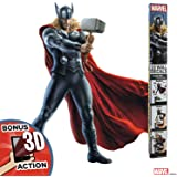 "Decalcomania Marvel 10-Pc Thor 23"" x 27"" Wall Decal With 3D Augmented Reality Interaction"
