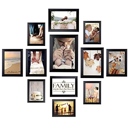 Amazoncom Homemaxs 12 Pack Picture Frames Collage Photo Frames