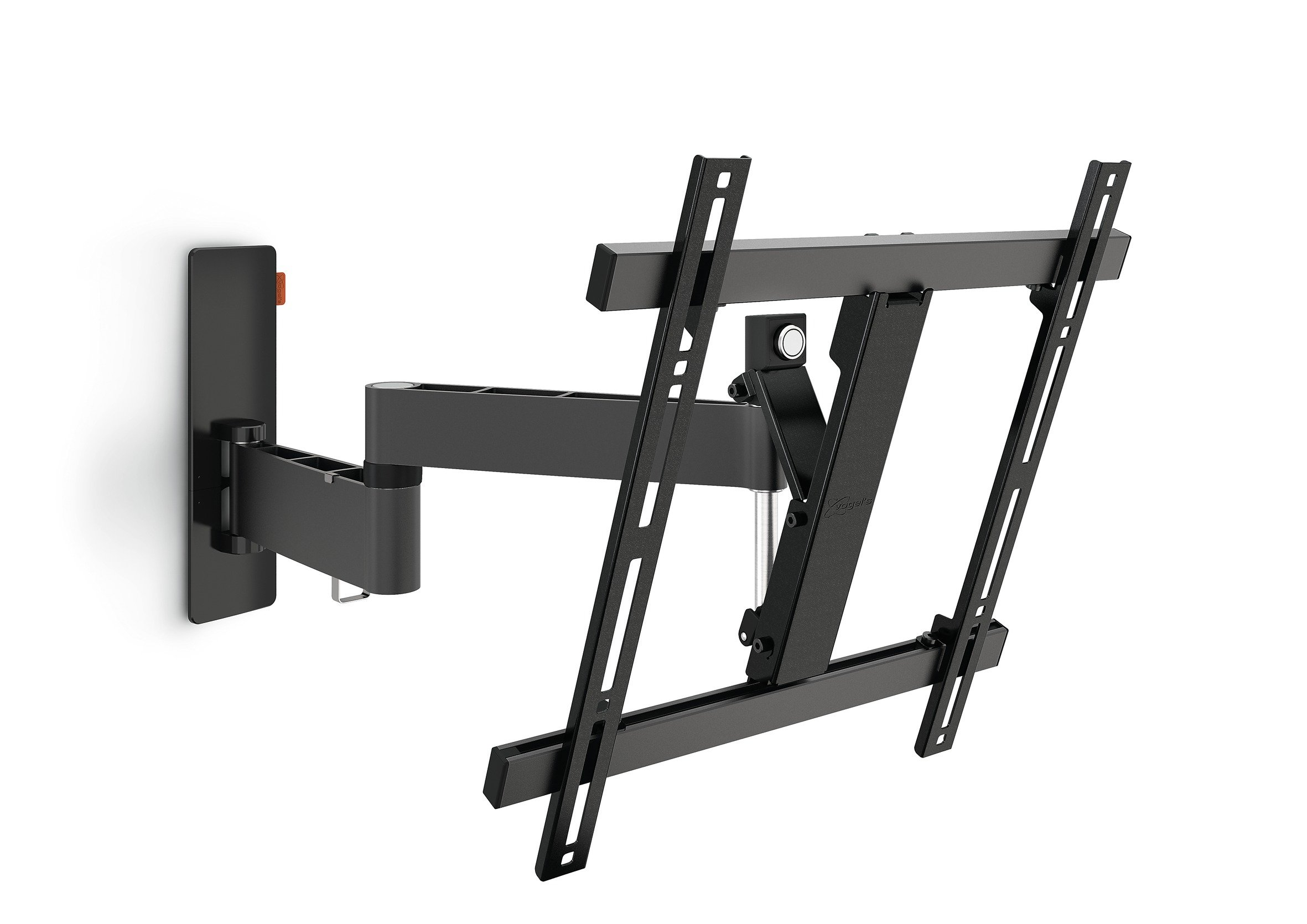 Vogel's TV Wall Mount 180° Articulating Swivel and Tilt - WALL series, WALL 2245B Wall Mount for 32 to 55 inch TV, Black