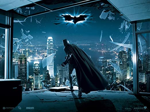 Batman The Dark Knight Customized 19x14 inch Silk Print ...