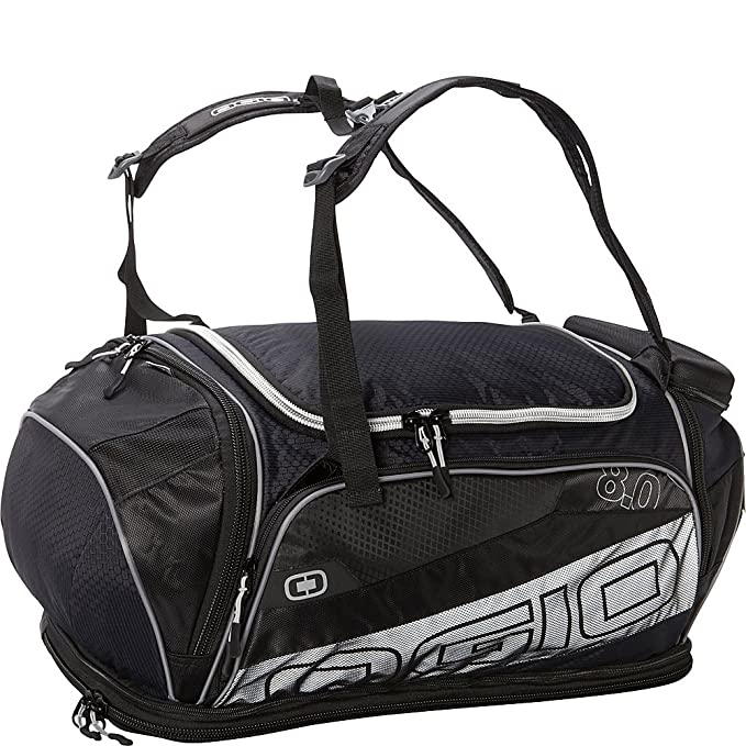 OGIO 8.0 Endurance Kit Bag - Black/Silver: Amazon.es: Deportes y aire libre
