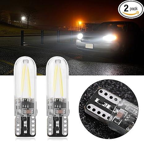 Amazon.com: T10 LED foco Filamento de, 2 unidades muy ...