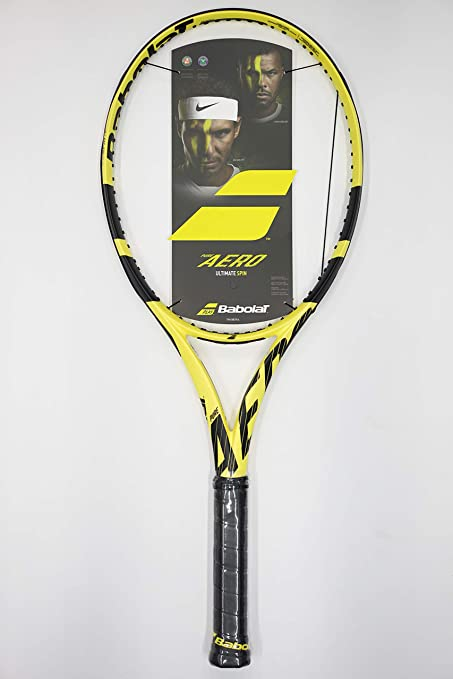 |VuTenniscom| Babolat Pure Aero 2019 Tennis Racquet, Free String (#1 [