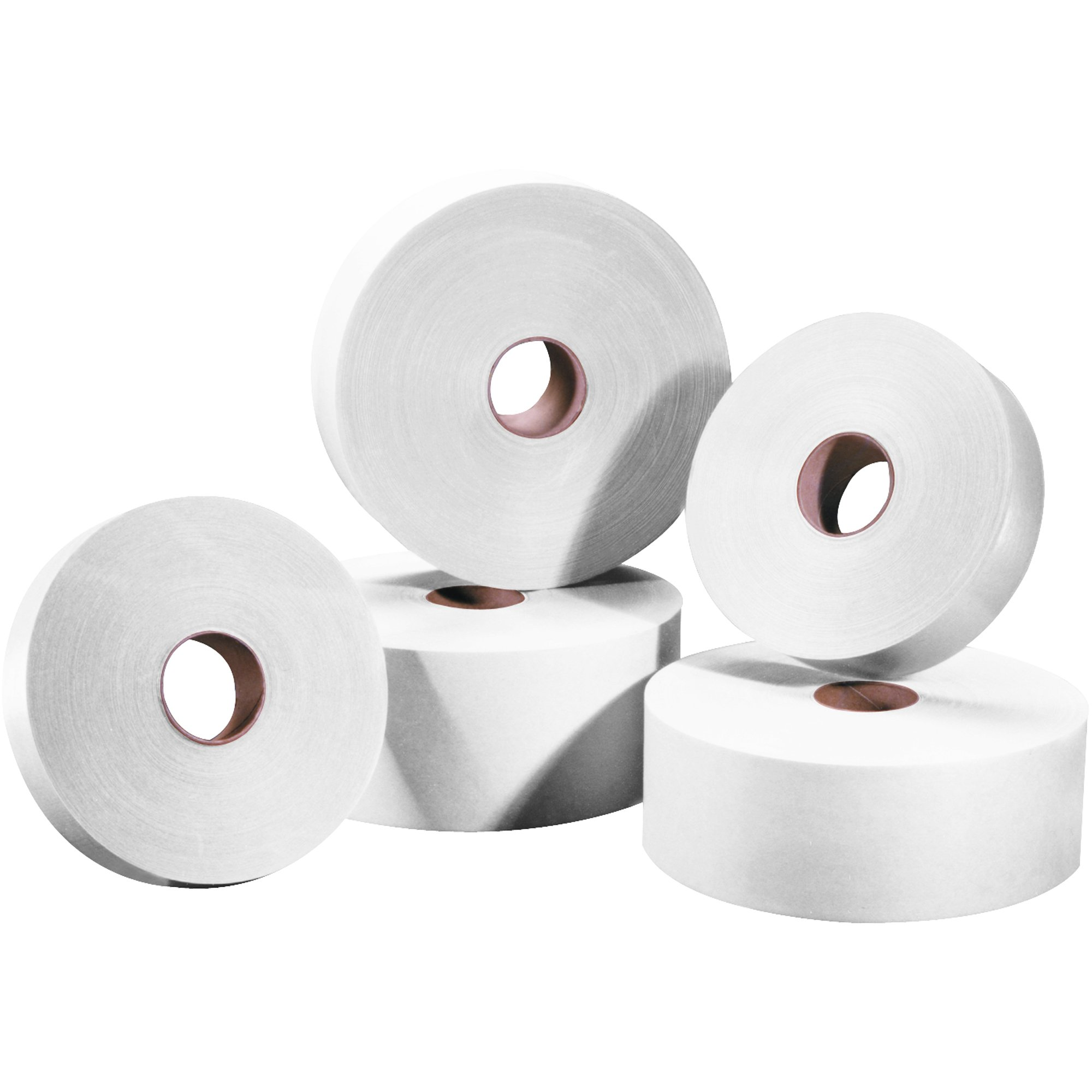 Tape Logic TLT15000W #5000 Non Reinforced Water Activated Tape, 1'' x 500', White (Pack of 30) by Tape Logic