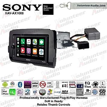 Sony Double Din Media Player Car Radio Install Mount Kit Harness