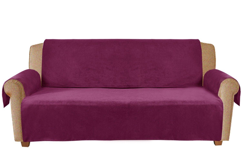 Amazon Com Homluxe Premium Pet Couch Covers Slip Resistant Dog Cat