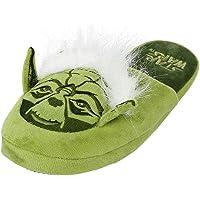 Star Wars Yoda Adult Mule Slippers: Large (UK 8-10 | EU 42-45 | US 9-11)