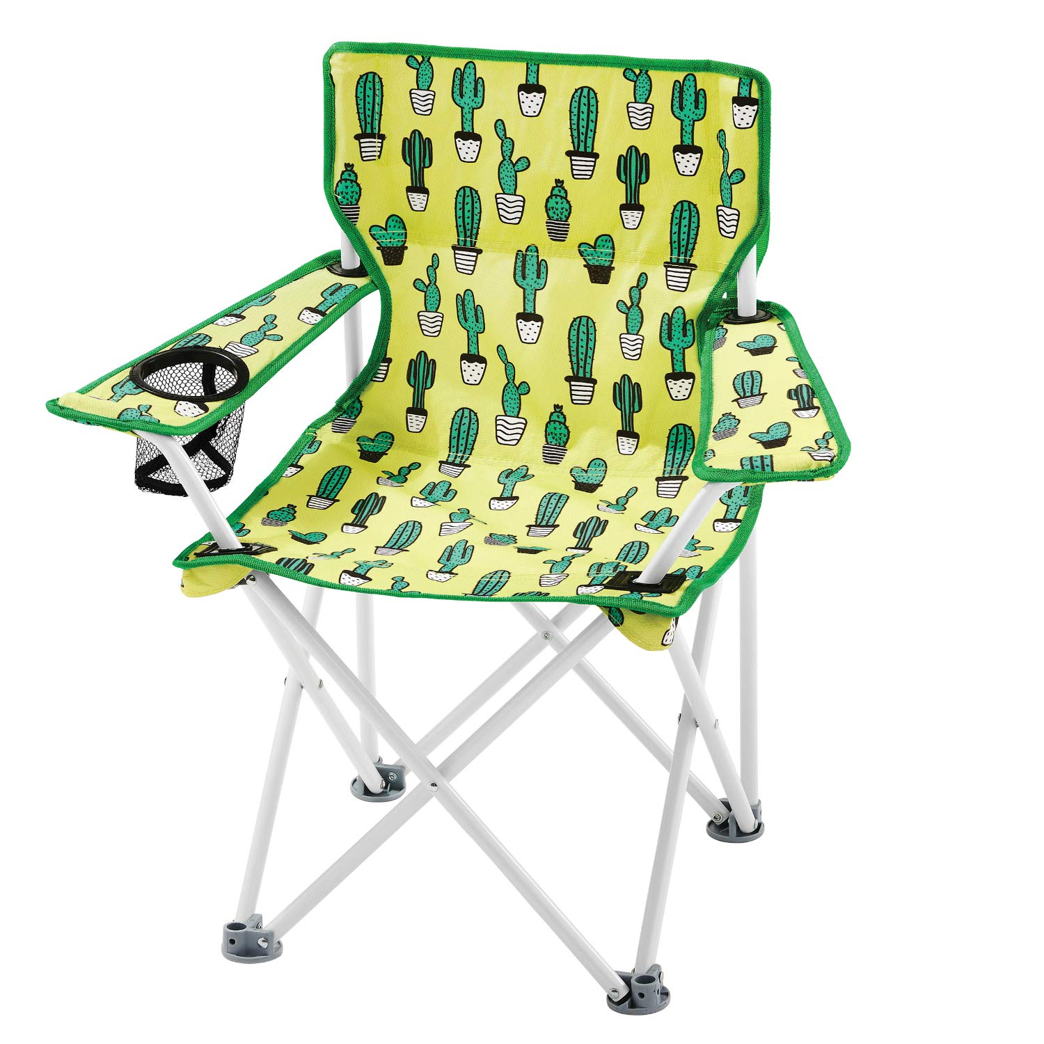 448674cbabb Amazon.com   OZARK Trail Kids Youth Folding Chair for All Outdoor  Activities (Cactus (Green))   Sports   Outdoors
