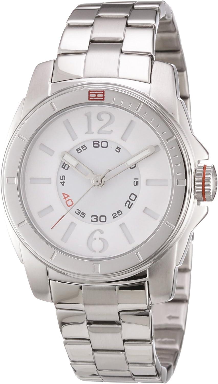 Tommy Hilfiger Watches - Reloj para Mujer de Acero Inoxidable Blanco
