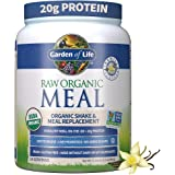 Garden of Life Raw Organic Meal Replacement Powder , 14 Servings, 20g Plant Based Protein Powder, Vanilla