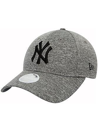7bd23a4aea7f3 New Era Men Caps Snapback Cap Tech Jersey NY Yankees 9Forty Grey  Adjustable  Amazon.co.uk  Clothing