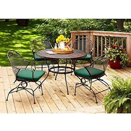 Amazon.com: Better Homes and Gardens Clayton Court 5-piece Patio ...