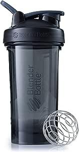 Blender Bottle Pro Series Shaker Bottle, 24-Ounce, Black