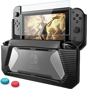 Funda Compatible con Nintendo Switch,HEYSTOP TPU PC Carcasa de ...