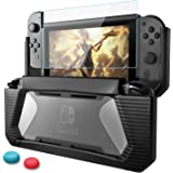 HEYSTOP Compatible with Nintendo Switch Case with Screen Protector TPU Protective Heavy Duty Cover Case for Nintendo Switch w