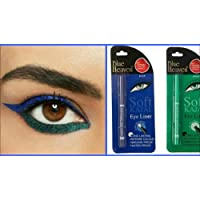 Blue Heaven Combo of Soft Kajal (Blue) & Soft Kajal (Green)