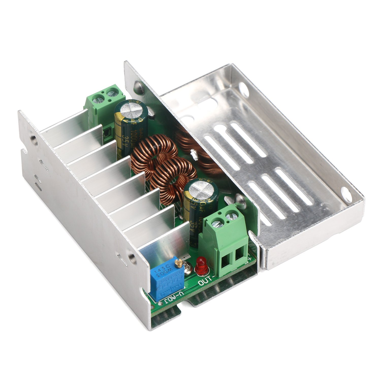 Droking Convertidor DC-DC Boost Buck ajustable Regulador de voltaje de salida constante 12V 24V Potencia 5A Step-down Convertidor Volt Regulator Module