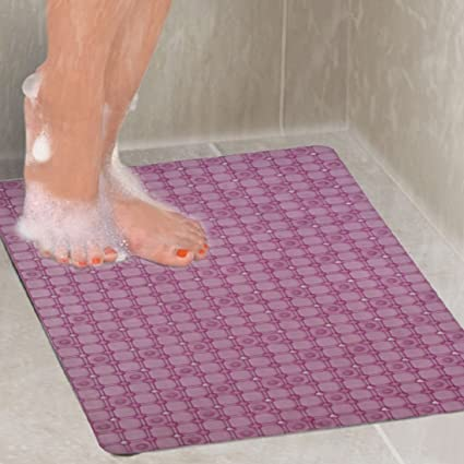 Kuber Industries PVC Bathroom Mat - 28