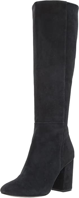 Kenneth Cole New York Womens Carah Knee High Tall Boot Stretch Engineer