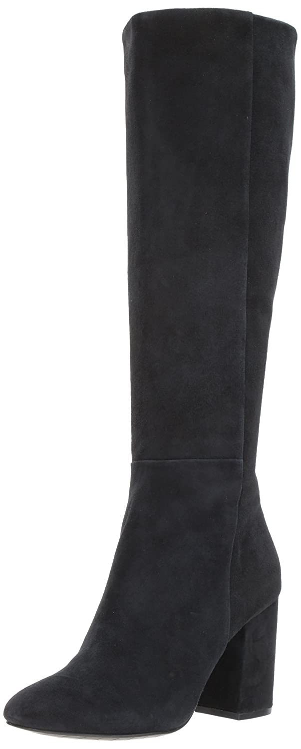 Kenneth Cole New York Women's Clarissa Knee High Tall Stacked Heel Engineer Boot B06ZY24GCM 9.5 B(M) US|Black