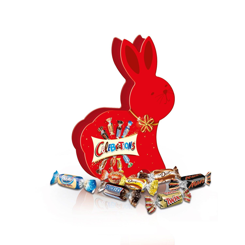 Celebrations Lapin de Pâques 0,215 kg - Lot de 10