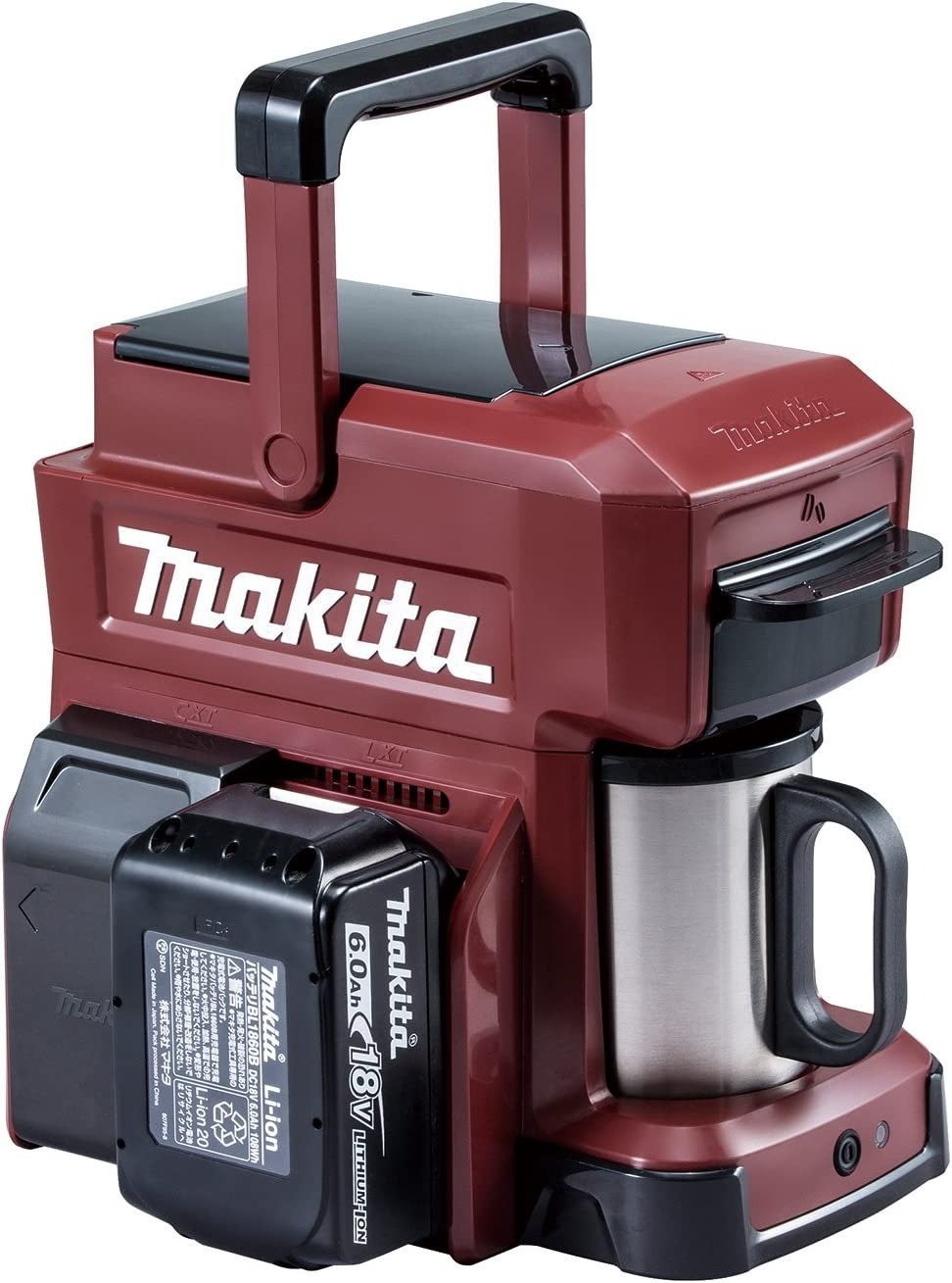 MAKITA Rechargeable Coffee Maker CM501DZAR Authentic Red Japan Domestic genuine products Ships from JAPAN