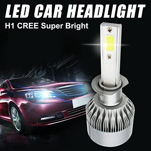 7 opinioni per iRegro 2PC H1 luci auto fari auto luminosa eccellente Hi / Lo fascio Plug & Play