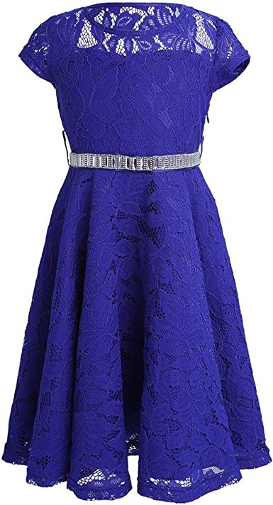 iiniim Big Girls Lace Flower Weddings Dress