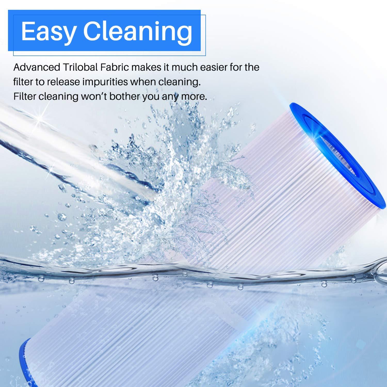 Amazon.com: Filtro de bañera de hidromasaje POOLPURE ...