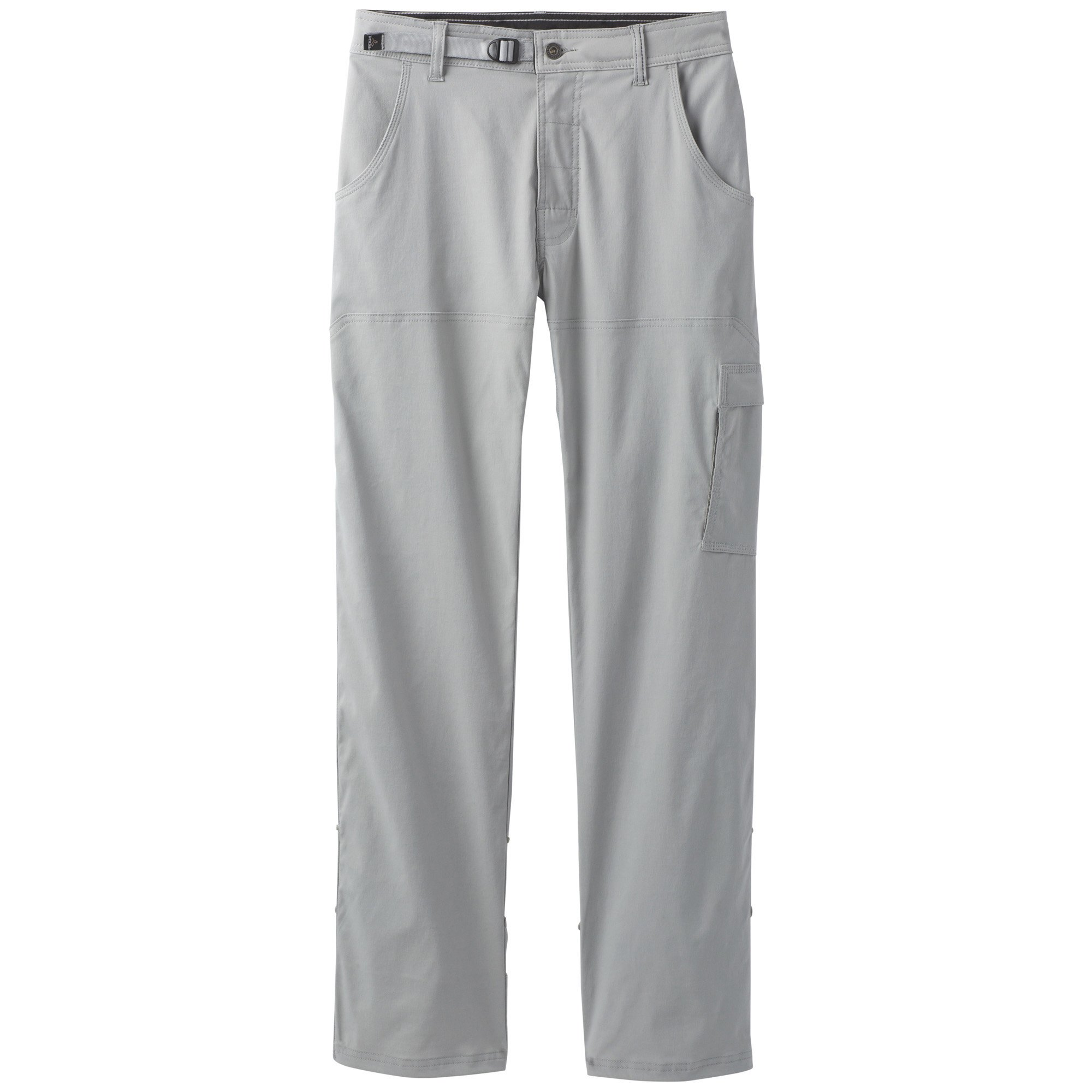 prAna Men's Stretch Zion Inseam Pants, Grey, Size 33