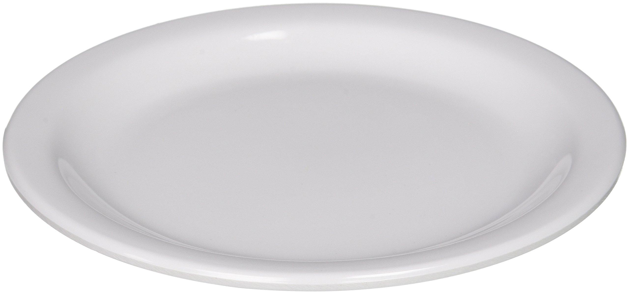 Winco MMPR-6W Round Melamine Plate, 6.5-Inch, White ( 12 Count )