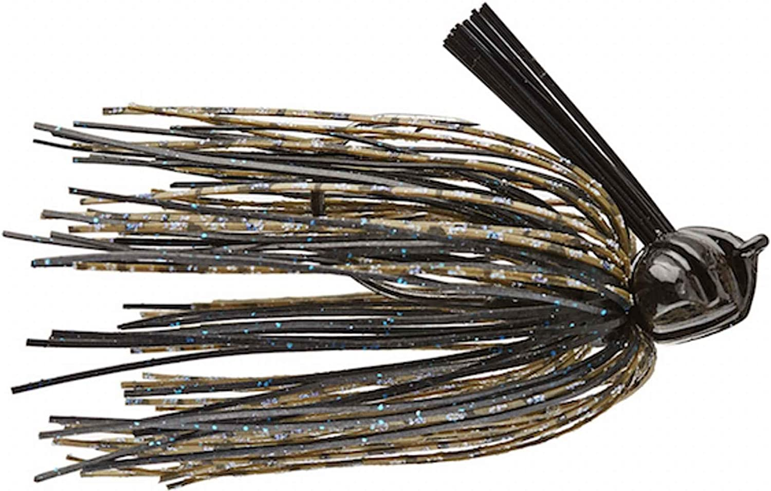 Pacemaker Series 3//4 oz Flatline Football Jig V/&M Baits Blue Shadow Color