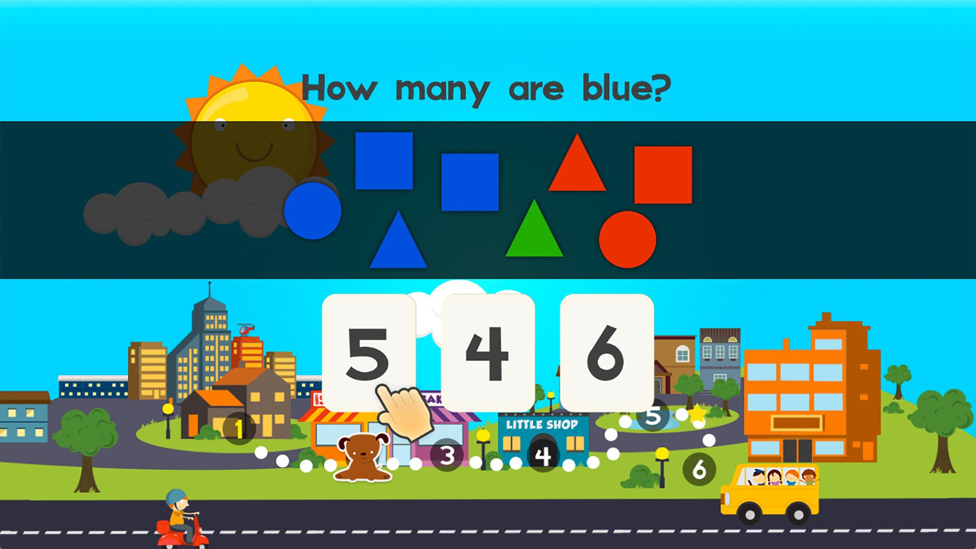 Animal Math Games for Free First Grade and Kindergarten Learning ...
