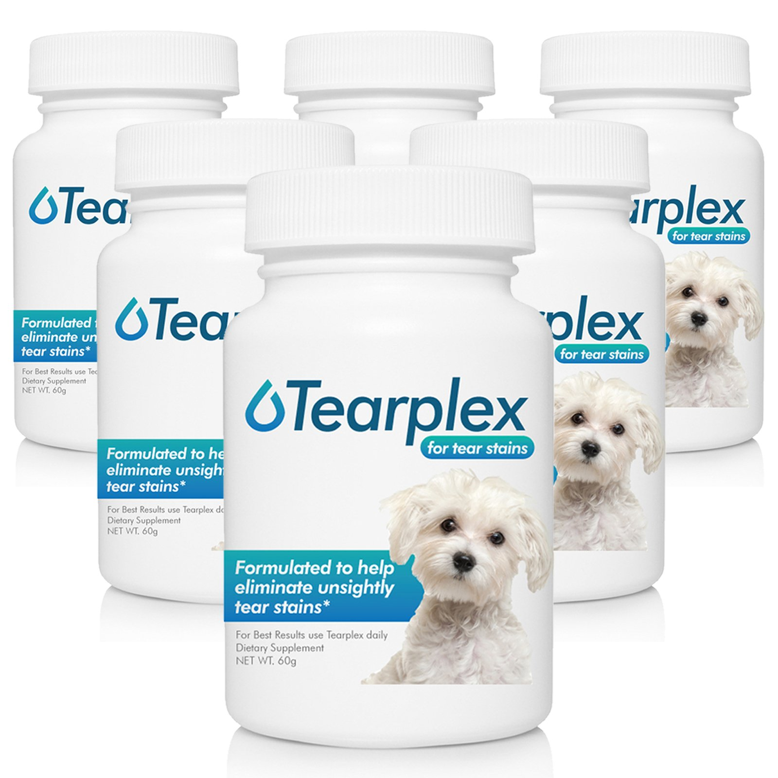 Tearplex Supplement- Beef Liver (6 pack)