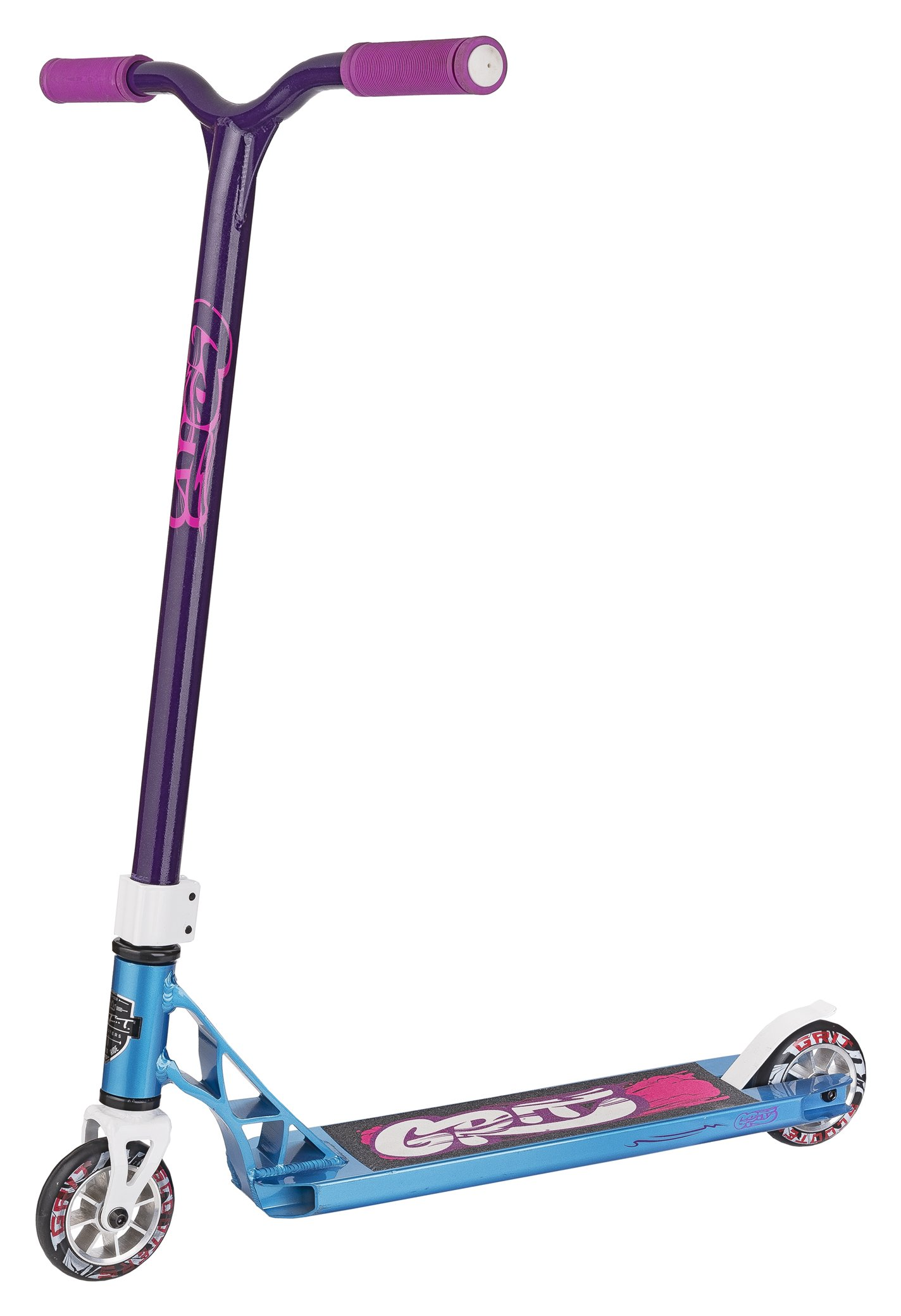 Grit Fluxx Pro Scooter (Satin Iced Blue/Purple) by Grit Scooters