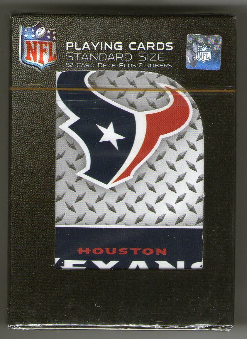GSP Houston Texans Playing Cards PSG
